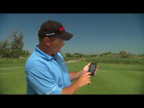 Golf Course Management Lesson using a Sky Caddie SGX GPS