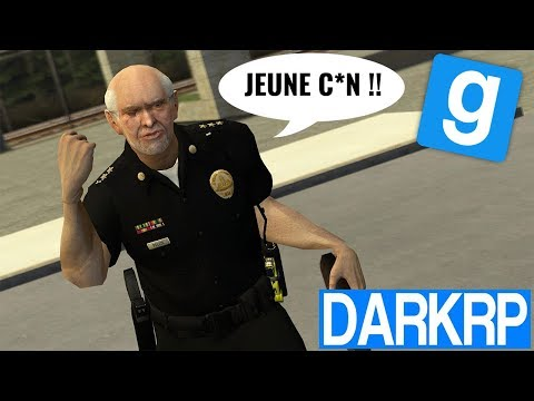 LE VIEUX COMMISSAIRE FOU !! - Garry's Mod DarkRP (видео)