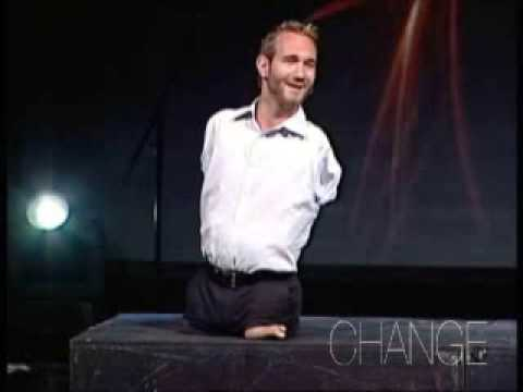 Nick Vujicic – Fully living for Jesus Christ (Part 1 of 4)