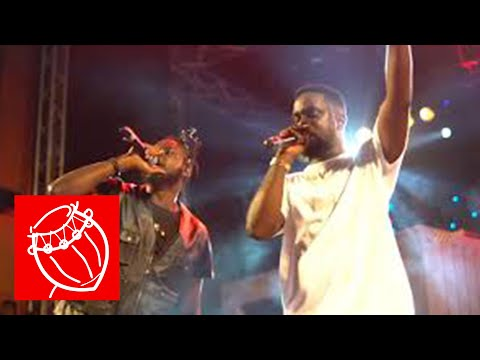 Sarkodie wept at Rapperholic 2017 when performing Glory