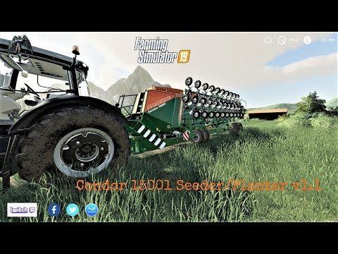Condor 15001 Seeder/Planter v1.1
