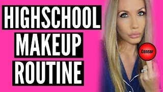 MY HIGH SCHOOL MAKE-UP ROUTINE by Channon Rose