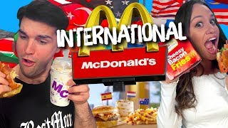 We Ate Everything on McDonald's New International Menu! (Cheat Day) by Clevver Style