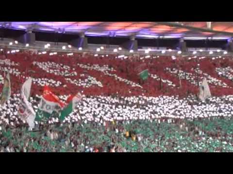 22/07/2013 - O Recebimento e o Mosaico Tricolor - Fluminense 1x3 Vasco - O'Tricolor.com TV - Movimento Popular Legião Tricolor - Fluminense