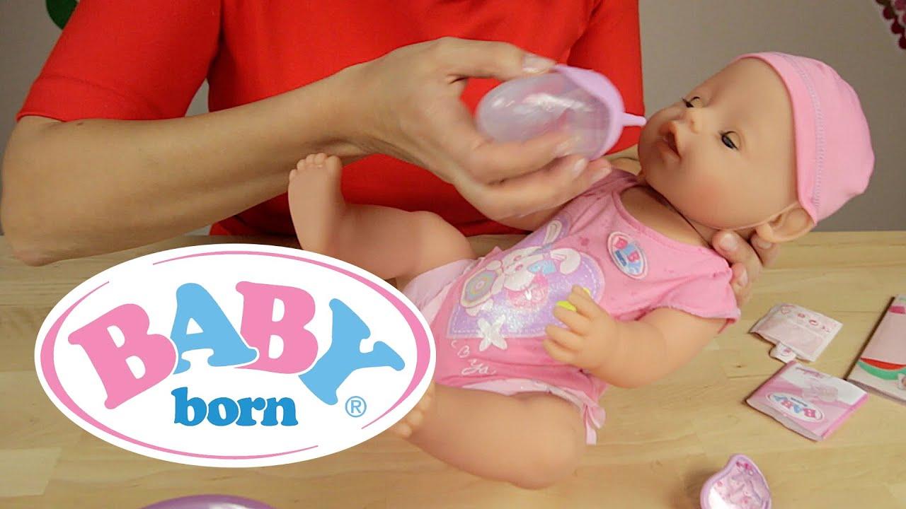 BABY born - Lalka interaktywna Dziewczynka 819197