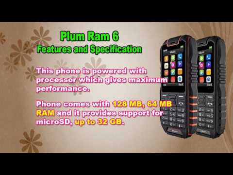 Features and Specification of Plum Ram 6