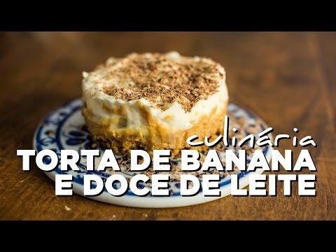 Culinária: torta de banana e doce de leite (Banoffee Pie)