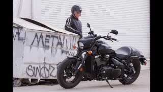7. 2018 Suzuki Boulevard M50 | is a modern power cruiser motorcycle