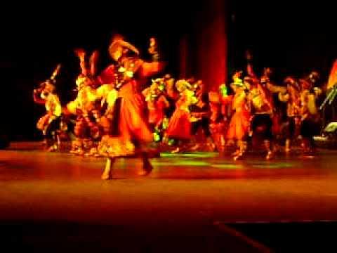 Bolivia. Ballet folklórico de Manuel Acosta. en Saint Ghislain