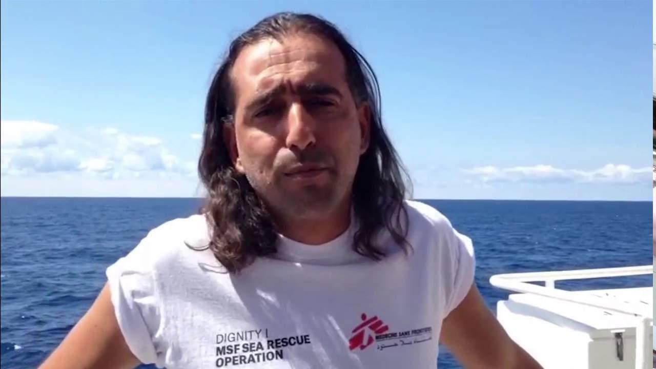 Καλημέρα από τη Μεσόγειο, Νικόλας Παπαχρυσοστόμου από το πλοίο Dignity I
