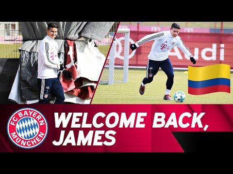 James Rodríguez In Training - Working On His Comeback!