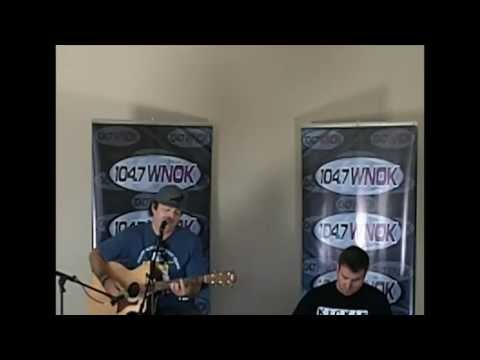 Kevin Rudolf performs for winners and answers questions