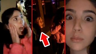 Video TOOK HER TO A HAUNTED HOUSE!! (Bad Idea) MP3, 3GP, MP4, WEBM, AVI, FLV Desember 2018