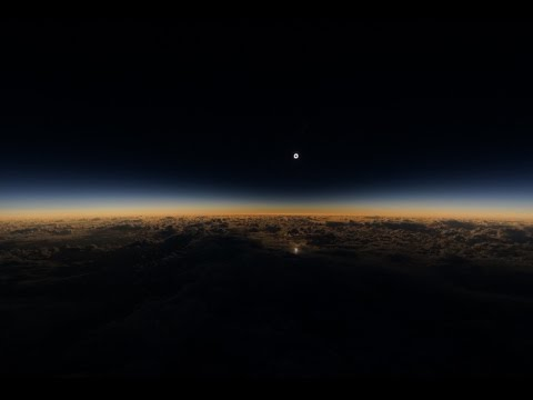 Watching a Solar Eclipse From a Plane