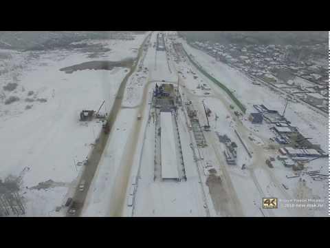 Строительство станции «Филатов луг» итоннеля под а/д «Солнцево-Бутово-Видное» вМоскве