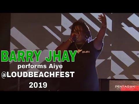 BARRY JHAY performs Aiye and thrills Crowd @LOUDBEACHFEST 2019