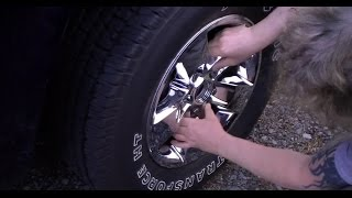 New Chrome Wheel Skins on Ram Truck or Car less than $70.