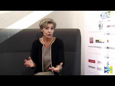 Interview 5Plus 2010 - C. Haigneré en hôte du forum