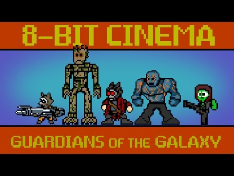 Guardians of the Galaxy 8 Bit Cinema