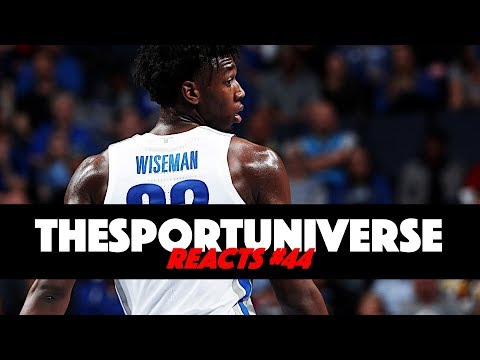 TheSportUniverse Reacts to James Wiseman Drama!! [Reacts #44]