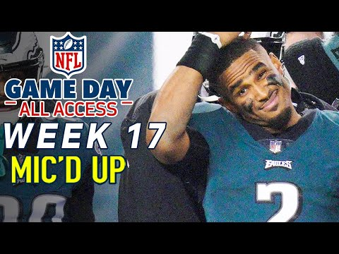 """NFL Week 17 Mic'd Up, """"I'm sorry we wasted one of your years"""" 