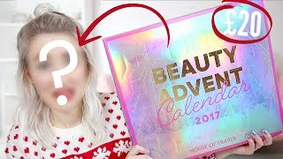 Video Full Face Of ADVENT CALENDAR Makeup + UNBOXING | Sophie Louise MP3, 3GP, MP4, WEBM, AVI, FLV Januari 2018