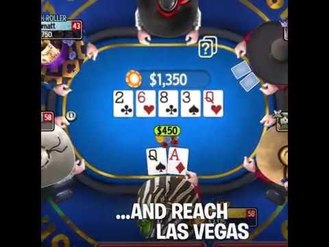 Governor of Poker 3 - Online multiplayer Texas Hold'em Poker game. Square