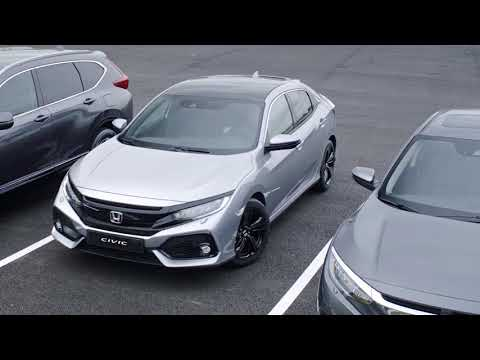 Honda SENSING - asistent při couvání a detekce objektů v mrtvém úhlu