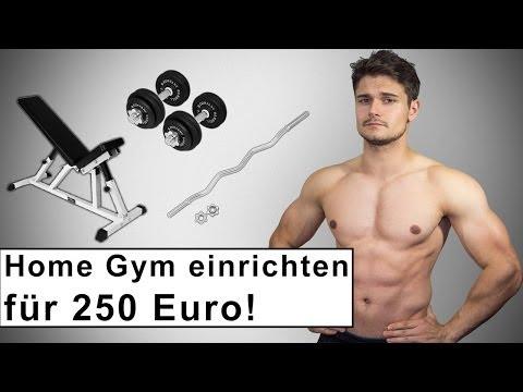 Home Gym für 250 Euro – Fitness Training zuhause – Kaufberatung