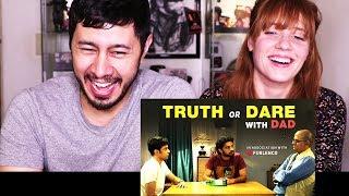 Video TVF TRUTH OR DARE W/ DAD | Reaction w/ Megan Aimes! MP3, 3GP, MP4, WEBM, AVI, FLV Februari 2018