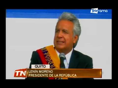 Presidente Moreno reiteró respaldo a policía y funcionarios que enfrentan crisis carcelaria
