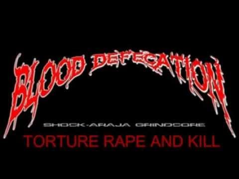BLOOD DEFECATION SHOCK ARAJA THRASH GRIND