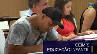 A prefeitura de Dourados empossou professores aprovados em concurso público