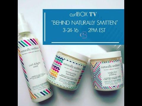 curlbox tv: behind naturally smitten (full video)