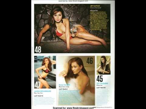 FHM Philippines 100 Sexiest Women in the World