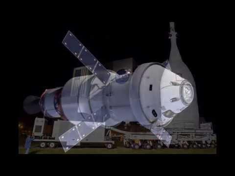 ORION DEEP SPACE CREW VEHICLE DELTA-IV HEAVY & SLS