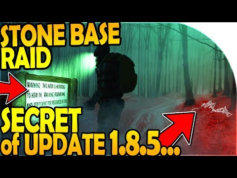 THE *SECRET* of UPDATE 1.8.5 - STONE BASE RAID - Last Day On Earth Survival Update 1.8.4 (видео)