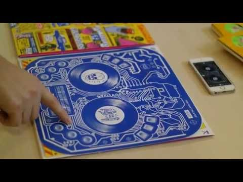 LP sleeve is also a DJ controller