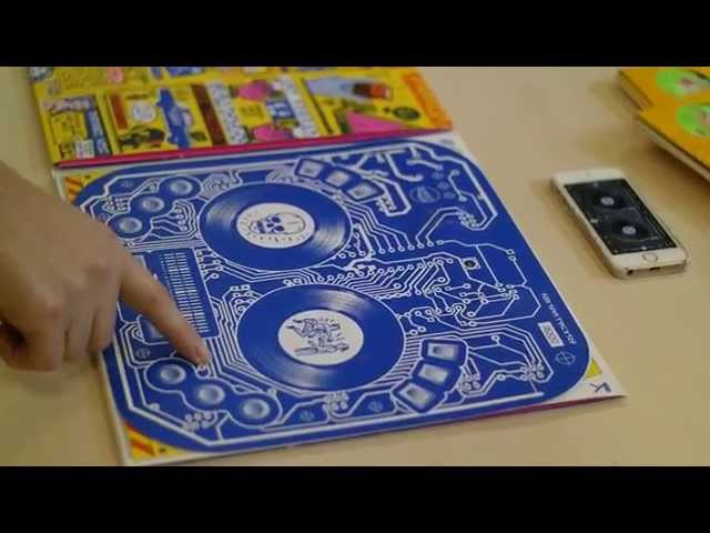 Novalia PrintedMIDI for DJ QBert's Album cover