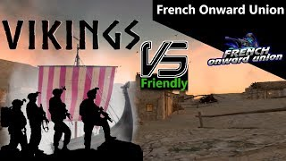 3. Onward - Friendly match - Vikings vs French Onward Union (9.1.2019)