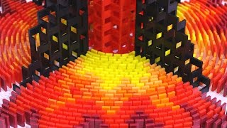 200,000 Dominoes - The Incredible Science Machine