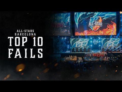 Top 10 Fails | 2016明星賽