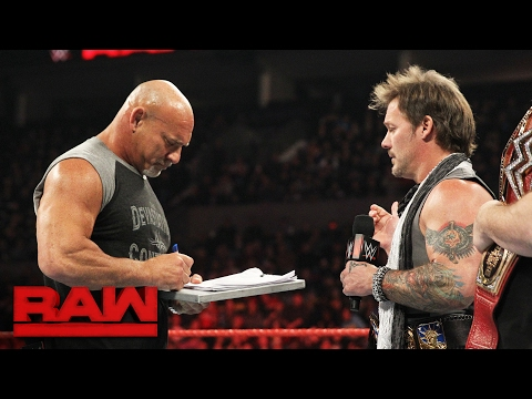 Video Goldberg accepts Brock Lesnar's WrestleMania challenge: Raw, Feb. 6, 2017 download in MP3, 3GP, MP4, WEBM, AVI, FLV February 2017