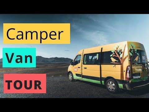 Happy Camper Van TOUR   Inside the Happy3