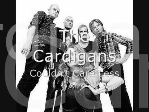 Tekst piosenki The Cardigans - Couldn't care less po polsku
