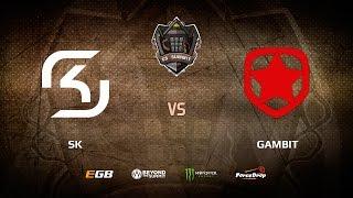 SK vs Gambit, Grand Final, map 3 train, cs_summit 2017