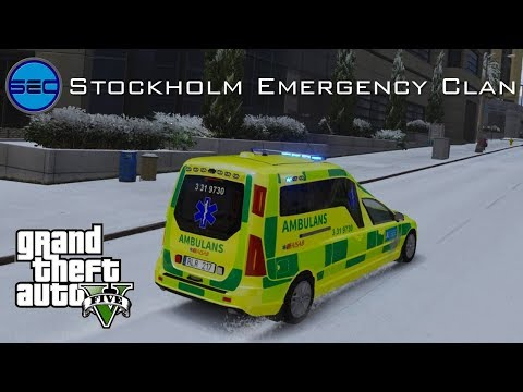 Stockholm Emergency Clan | #1 AMBULANS - Flyghaveri!