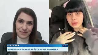 Aumenta procura por cirurgias plásticas na pandemia em Sorocaba