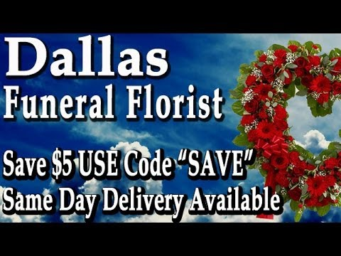 "Dallas Funeral Flowers | Save $5 Use Code ""SAVE"" 