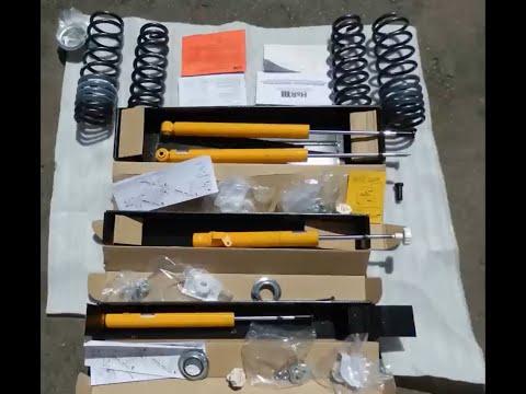 Koni Sport Kit Тest (видео)